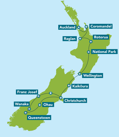 New Zealand Uncovered From 6499 20 Days